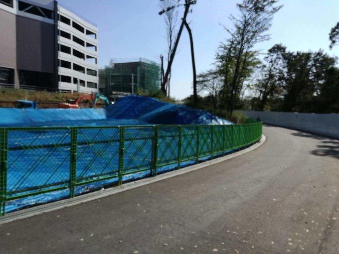 鶴間公園の新歩道