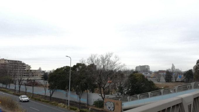 東京女学館大学跡地2019年1月現在