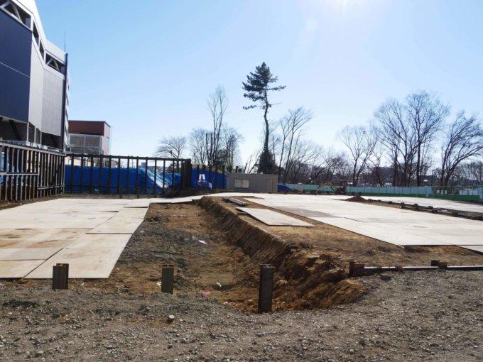 南町田に移転するスヌーピーミュージアムが建設される予定の場所
