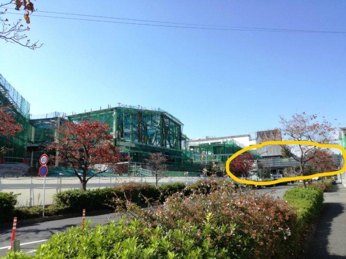 南町田グランベリーパーク駅とモールを繋ぐ橋
