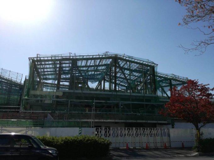 南町田グランベリーパーク工事進捗状況駅側