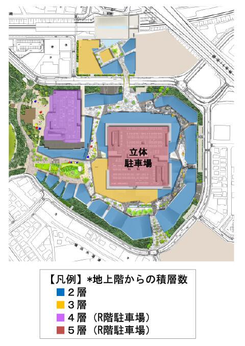 南町田グランベリーパーク建物計画