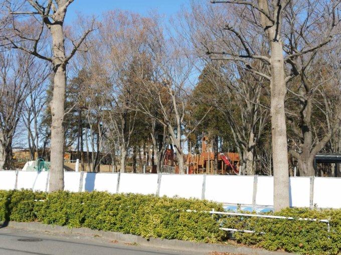 鶴間公園の現在【森の遊び場】アスレチック遊具
