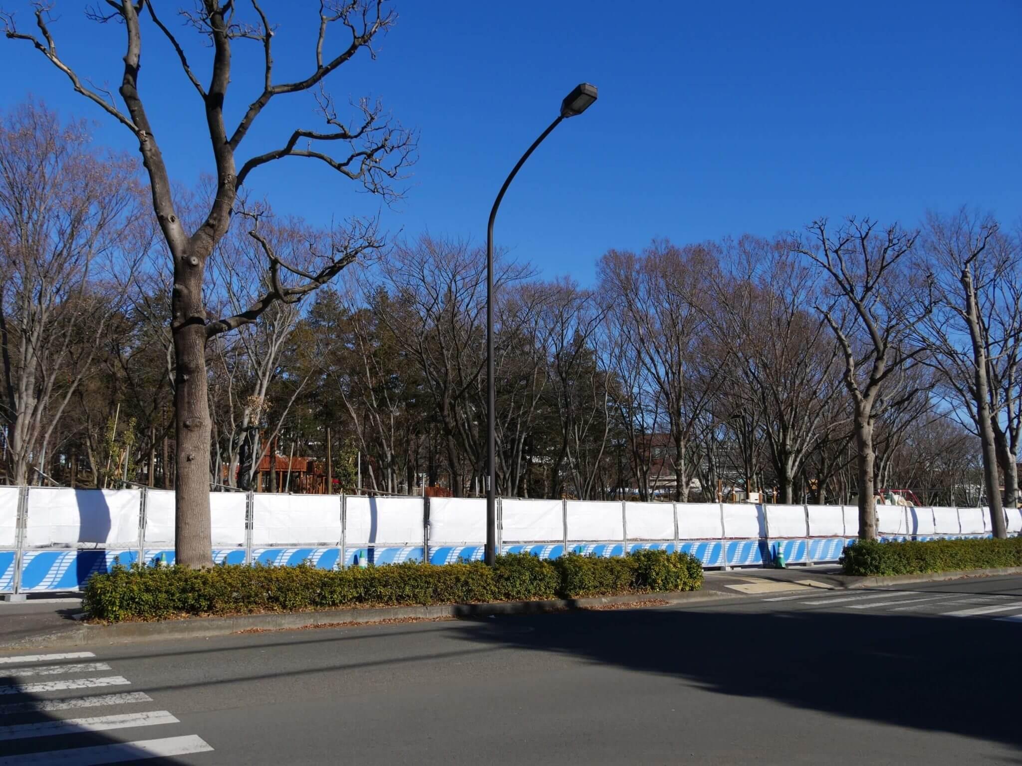 鶴間公園の現在【幼児広場】