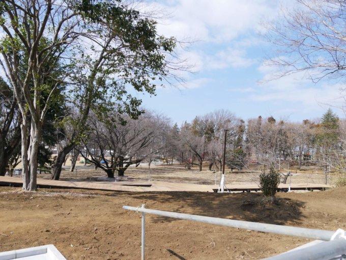 鶴間公園のさわやか広場
