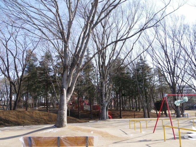 鶴間公園の幼児広場