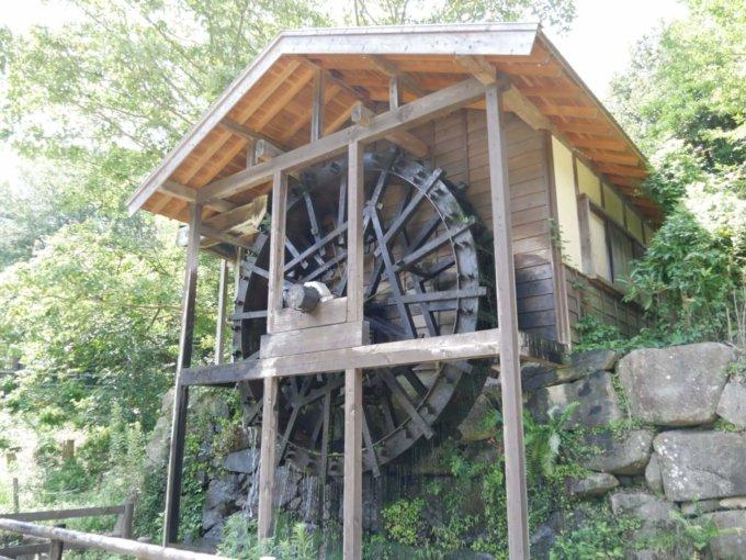 泉の森の水車