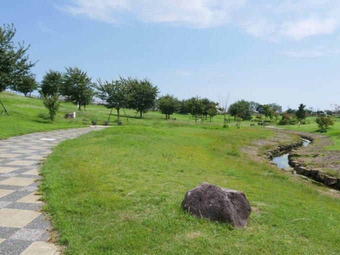 大和ゆとりの森の修景池ゾーン