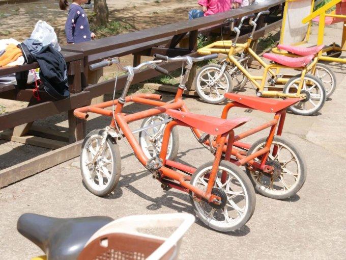 つくし野アスレチックの自転車コース