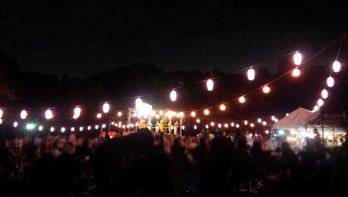 2017年の南町田祭り(なんまち祭り)の様子