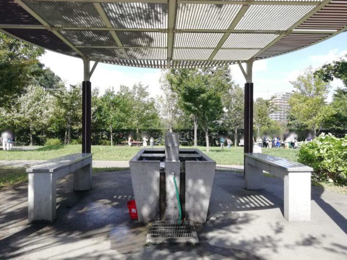 玄海田公園バーベキュー場洗い場