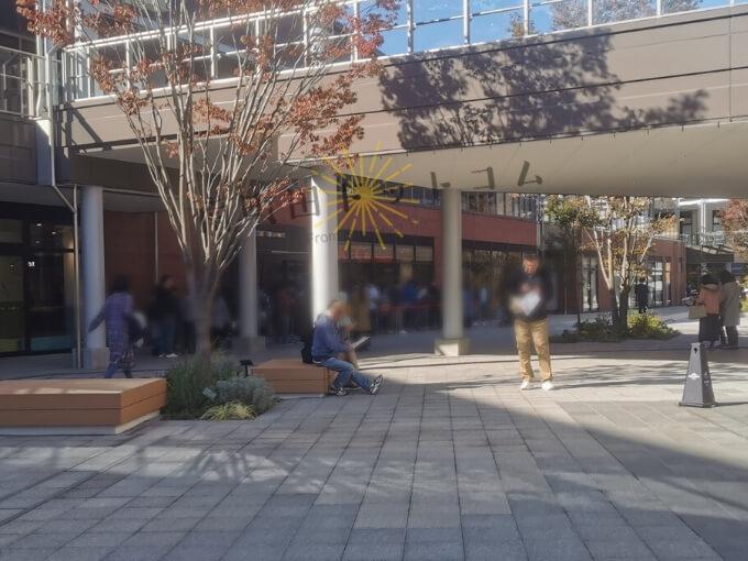 南町田グランベリーパーク11月15日の混雑状況