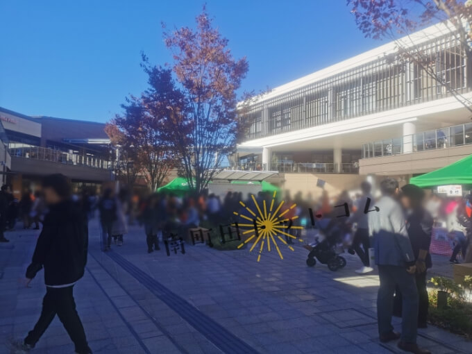 南町田グランベリーパーク土日の混雑状況