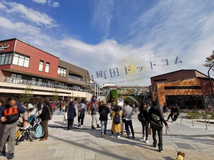 南町田グランベリーパーク土日祝日の混雑状況
