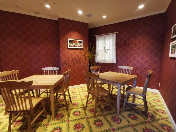 ひつじのショーンビレッジのカフェ