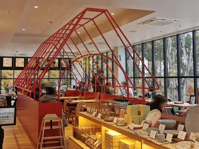 南町田スヌーピーミュージアム横のピーナッツカフェ店内