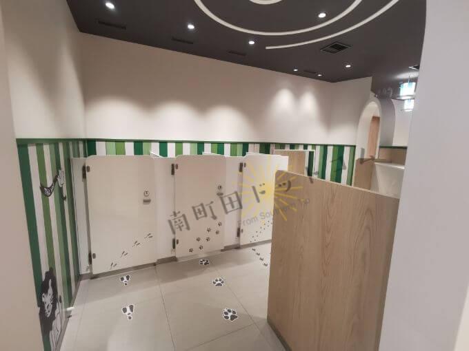 南町田グランベリーパークのキッズトイレ