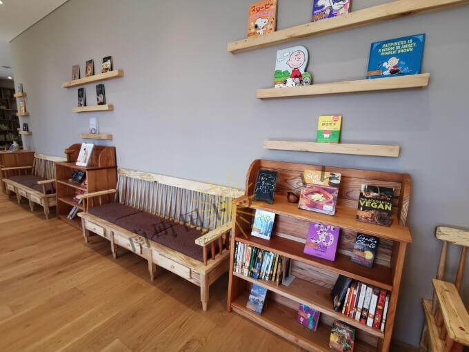 南町田グランベリーパーク・パークライフサイトの図書館
