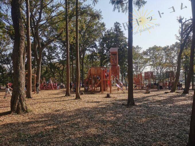鶴間公園「森のあそびば」