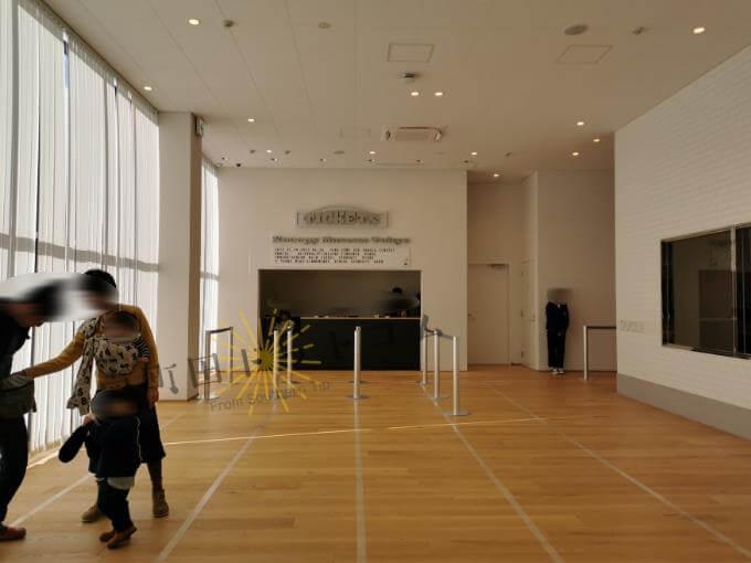 南町田のスヌーピーミュージアムの混雑と滞在時間レポ:受付
