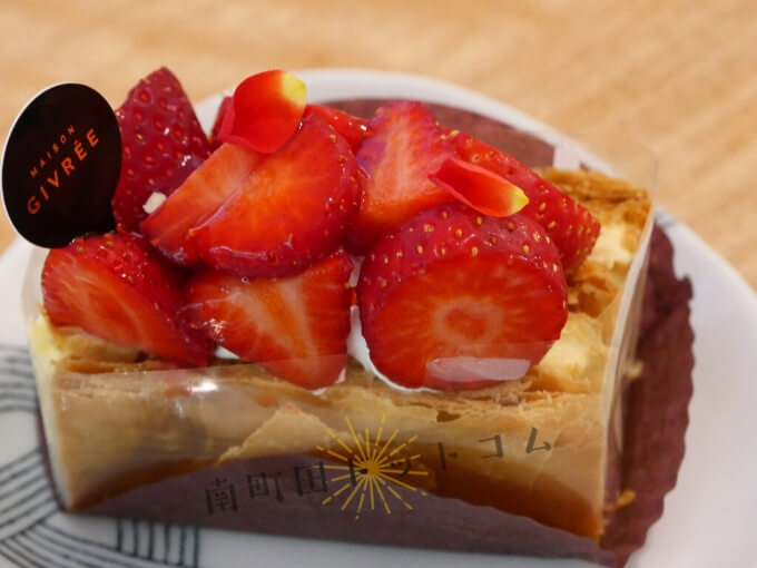 南町田グランベリーパークにオープンしたメゾンジブレーのケーキ