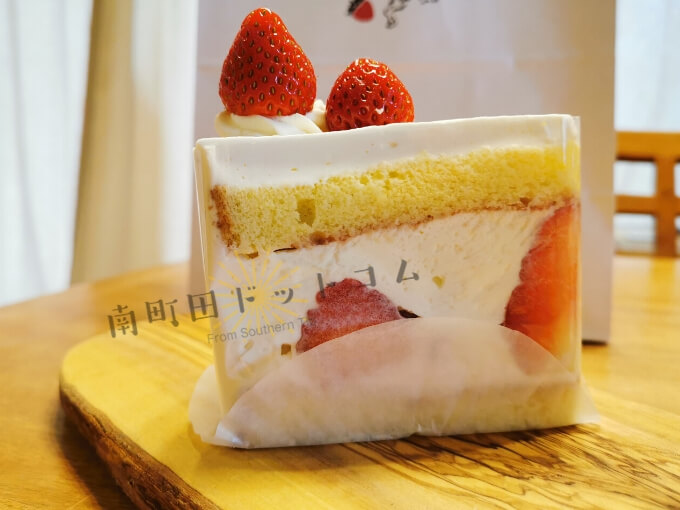 ミガキイチゴ専門店「ICHIBIKO(いちびこ)のショートケーキ
